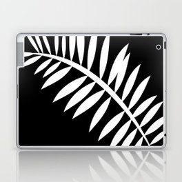 PALM LEAF WHITE LEAF Laptop & iPad Skin