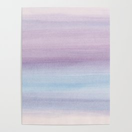 Pastel Watercolor Dream #1 #painting #decor #art #society6 Poster