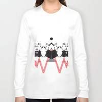 rorschach Long Sleeve T-shirts featuring Rorschach by Isaak_Rodriguez