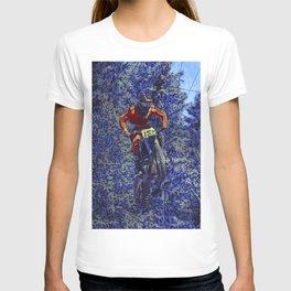 Finish Line Jump - Motocross Racing Champ T-shirt