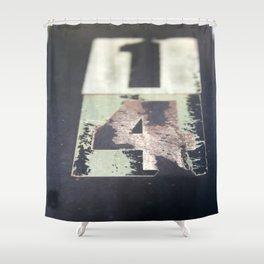 Fourteen Times Shower Curtain