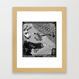 Jewelled Lipped Toucan Framed Art Print