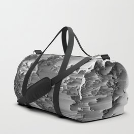 Japanese Glitch Art No.3 Duffle Bag