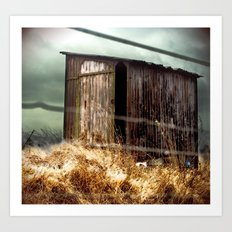 The Shed Art Print