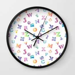 A, You're Adorable Wall Clock