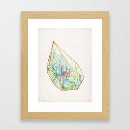Terrarium Garden I Framed Art Print