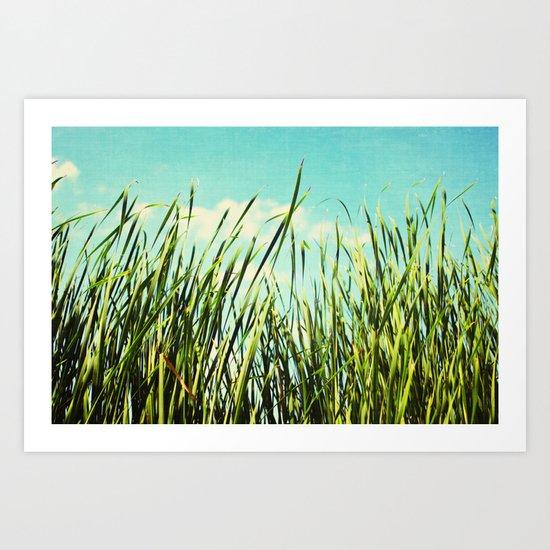one summer day Art Print