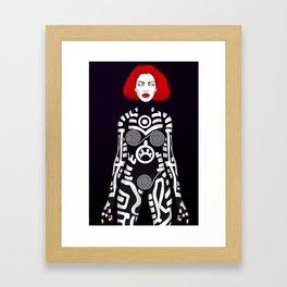 Vamp  Framed Art Print