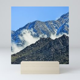 Peaceful Clouds Descended And Comforted The Mountains Mini Art Print