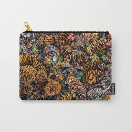 """""""Pine cones"""" Carry-All Pouch"""