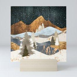 Winter Stars Mini Art Print