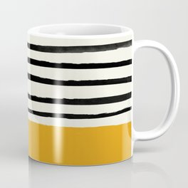 Fall Pumpkin x Stripes Coffee Mug