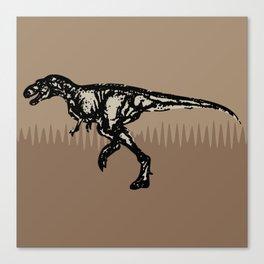ChocoPaleo: Tyrannosaurus Rex Canvas Print