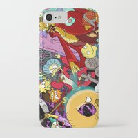 simpsons iPhone & iPod Cases featuring Simpsons Halloween Bonanza by Laura Von Burns