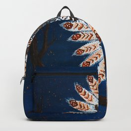 A fire started Backpack