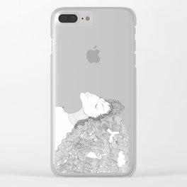 Sea Dreamland Clear iPhone Case