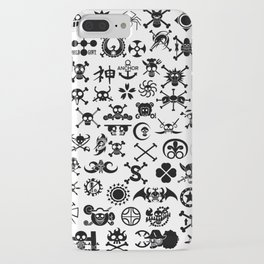One Piece Jolly Roger iPhone Case