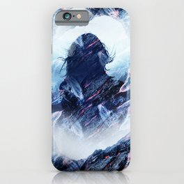 Magma Girl iPhone Case