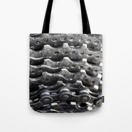 Rear mountain bike cassette Tote Bag