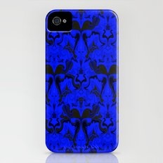Creatures from the Blue Regal Abstract digital textured pattern iPhone (4, 4s) Slim Case