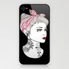 Nose Ring iPhone & iPod Skin