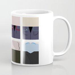 Enterprise NX-01 Crew minimalist - Star Trek Enterprise ENT- Trektangle startrek - Trektangles  Coffee Mug