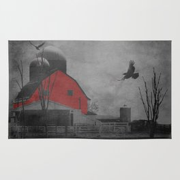 Rustic Red Barn A659 Rug