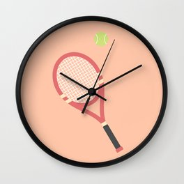 #19 Tennis Wall Clock