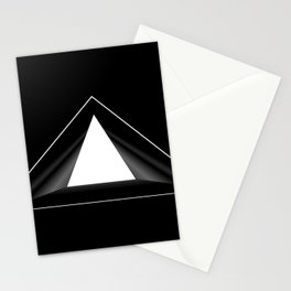 Abstraction 013 - Minimal Geometric Triangle Stationery Cards