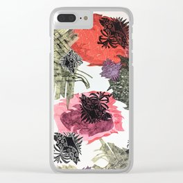 Carbonation Collection: romance Clear iPhone Case