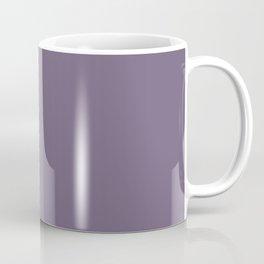 GRAPE COMPOTE dusty purple solid color Coffee Mug