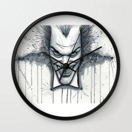 Crazy - Ode to The Joker Wall Clock