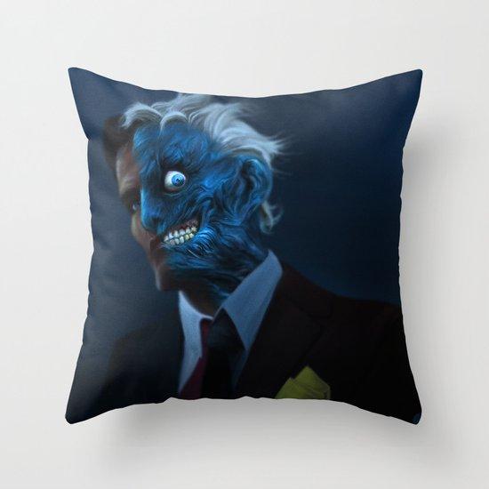 DENTED Throw Pillow