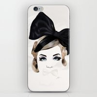 bows iPhone & iPod Skins featuring Bows by SoulDeep