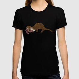 Otters of the World pattern T-shirt