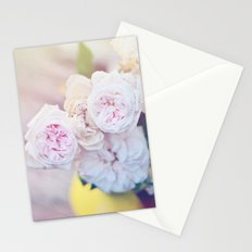 The Last Days of Spring - Old Roses III Stationery Cards