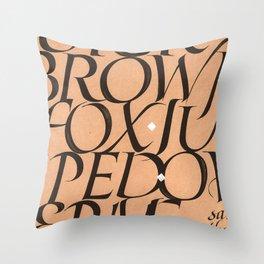 The dog said... Throw Pillow