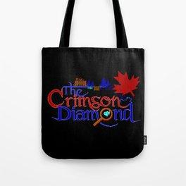 The Crimson Diamond colour logo Tote Bag