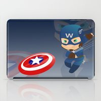 captain silva iPad Cases featuring Captain by Clarisse2dart