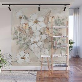 Peaches and Cream Wall Mural