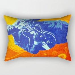 B.B. King - Blues Music Legend Rectangular Pillow