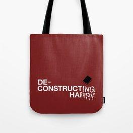 Deconstructing Harry Tote Bag