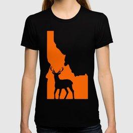Idaho Deer Hunting T-Shirt Deer Hunter Tee T-shirt