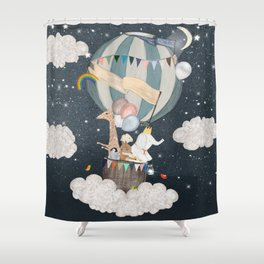 the stars shine for you Shower Curtain