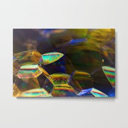Valley of Bubbles Metal Print