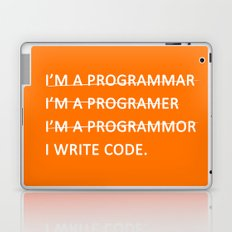 I write code Laptop & iPad Skin