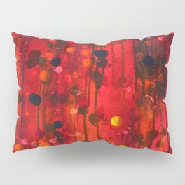 Untitled (Red) Pillow Sham