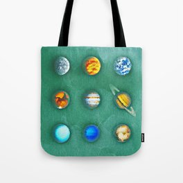 9 Rocks From The Sun Poster Version 1 Tote Bag