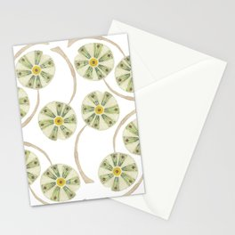 Flower Circle Stationery Cards