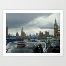 Gloomy Day in London Art Print
